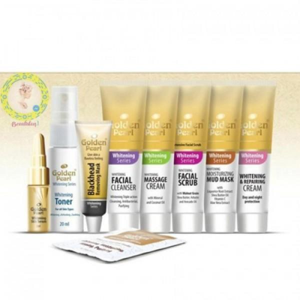 Golden Pearl Whitening Trial Kit - 20ml - 9pcs