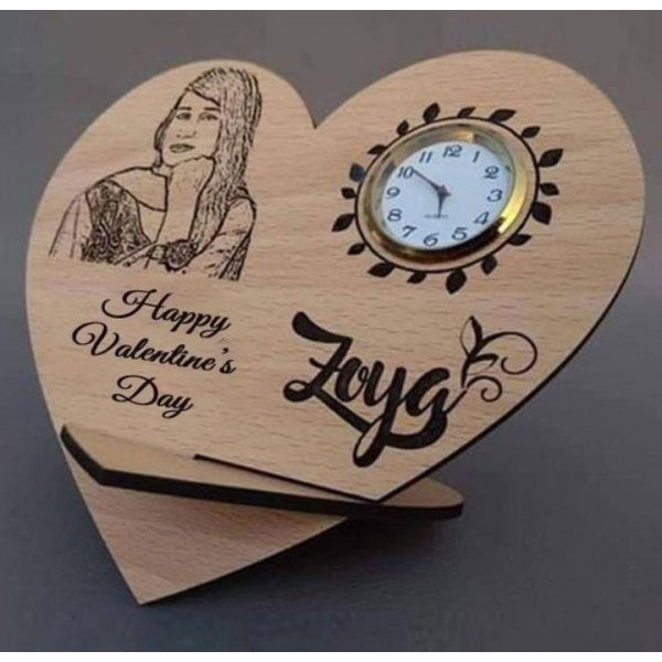 Customized Picture wooden Clock