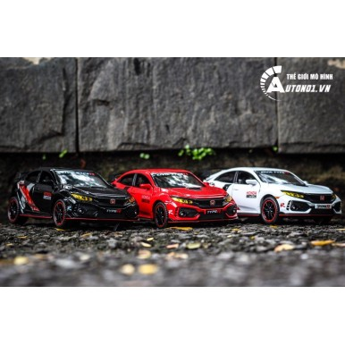 Honda Civic type R Car Model Alloy 1:32 Diecast Cars Model Car Toy Vehicles Toys For Children Gifts