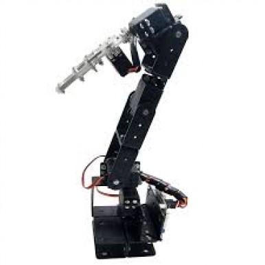 6 Dof Robotic Arm Clamp Claw Kit