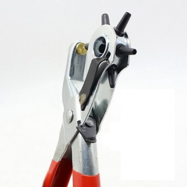Revolving 6 Sizes Round Hole Perforator Hole Punch Plier