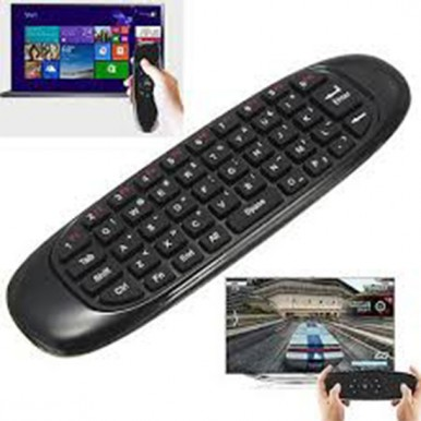 Air Mouse C120 2.4Ghz Multifunctional Wireless Mini Keyboard and Remote Control for Android TV Box Smart TV G Box HTPC IPTV iOS PS3 Xbox 360 Gyroscope Mini Keyboard with Remote Control