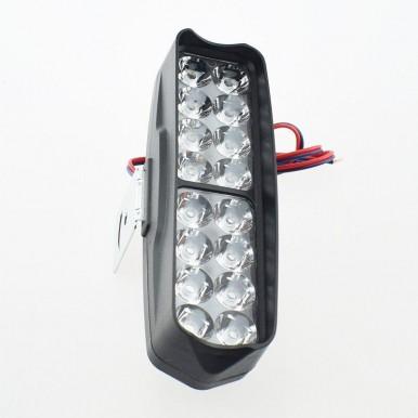 Motorcycle headlight 16 led spotlights Motorbike work light spot Lamp headlamp Waterproof for Motor Bike and  Car