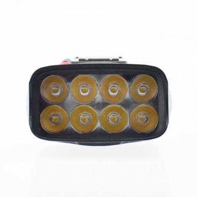 Motorcycle headlight 8 led spotlights Motorbike  work light spot Lamp headlamp Waterproof  Motor & Bike & Car