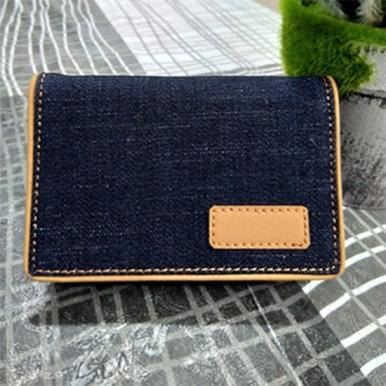 Wallet and Keyring Denim Jeans