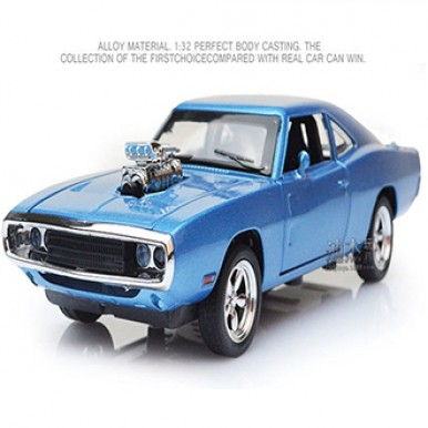 The Fast and The Furious Dodge Charger Alloy Car Model Kids Toys for Children Metal Classical Cars