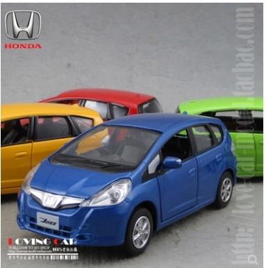 Honda Fit Jazz 1:36 Die-Cast Model Collection Car