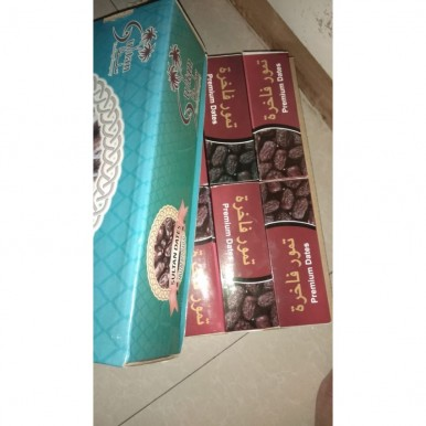 Irani Muzafati Fresh Sweet and Tasty Original Black Khajoor dates 1kg Export quality box packed