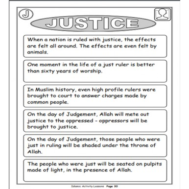 Islamic Activity Kids Learning book