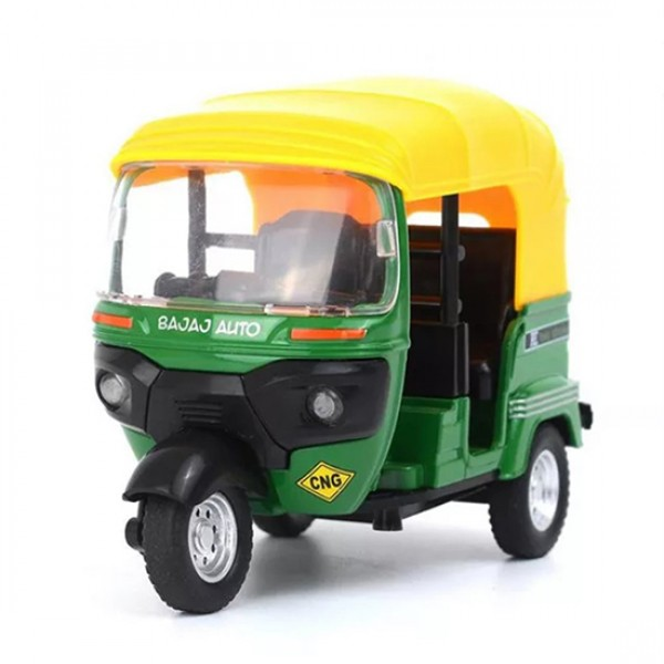 Toy Diecast  Auto Rickshaw Motor Tricycle