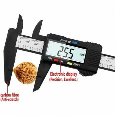 New Arrival 150mm 6 inch LCD Digital Electronic Vernier Caliper Gauge Micrometer Measuring Tool