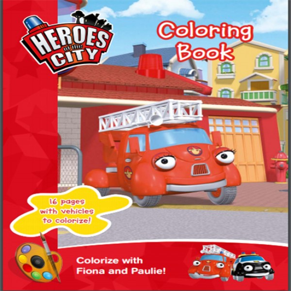 Vehicle Coloring book for kids Learning