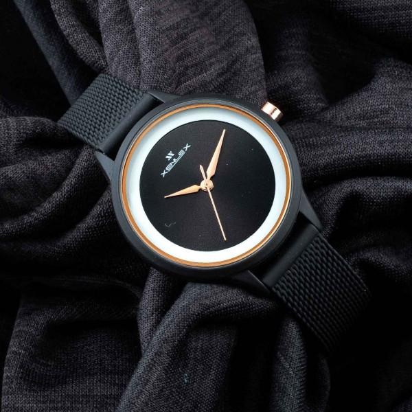 Xenlex Watch Analog Strap Black