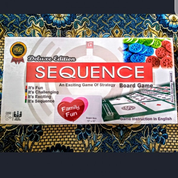 Sequence Board Game Deluxe Edition