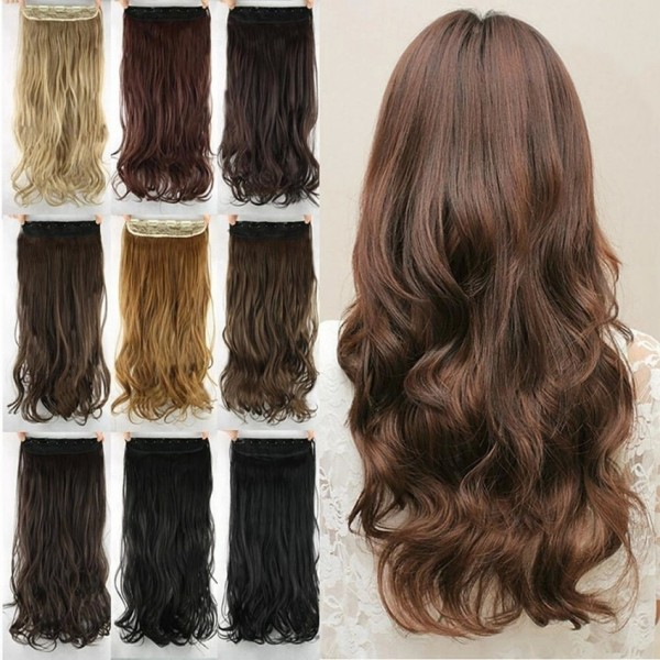 Heat Resistance Synthetic Hair Extension