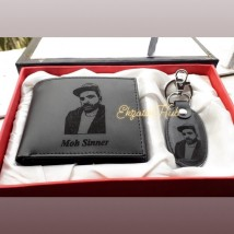 Customized Picture Wallet with Key-chain
