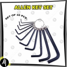 Allen Key Set (10 Pcs)