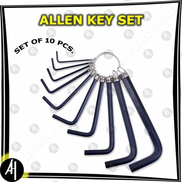 Allen Key Set (10 Pcs)