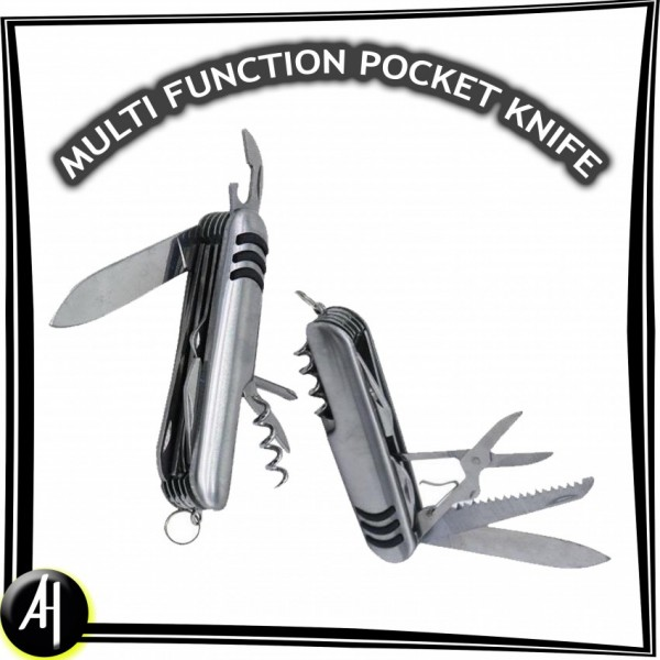 Multi Function Army Knife (Swiss Style)