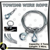 Towing Wire Rope - 3 meter x 8mm