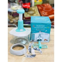 Vegetable and Meat Hand Pat Chopper Masher