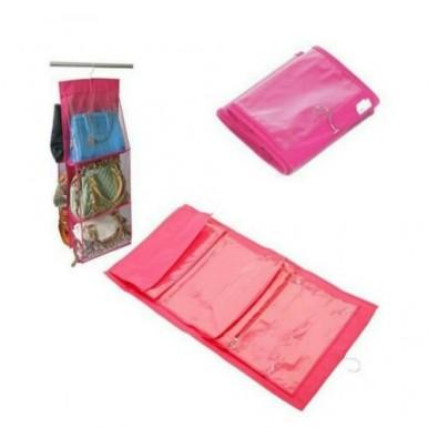 Pack Of 6 Pocket Purse Organizer