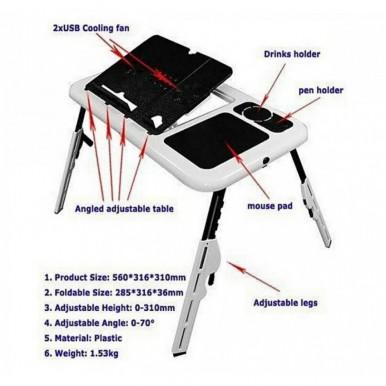 Flexible Portable Laptop E-Table