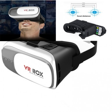 Virtual Reality Vr 3D Glasses - Genuine Quality