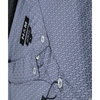 Gents Casual Shirts in Grey Colour