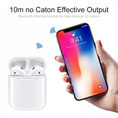 i12 Airpods Original With Charging Case