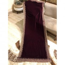 Beautiful Embroidered Velvet Shawl for Ladies LM-FR