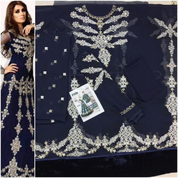 Beautiful embroidered bridal style dress