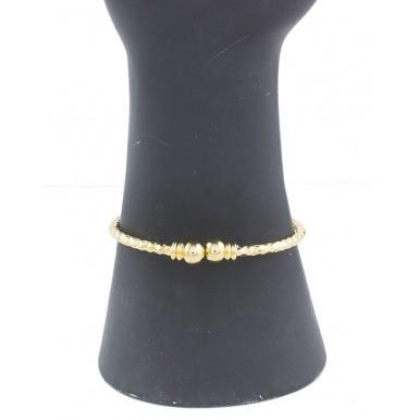 Rose Golden Gold Plated Cat Shape Princes Bracelet