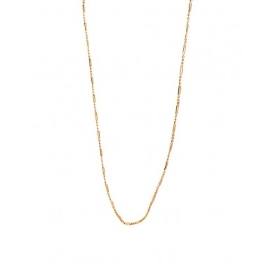 Golden Gold Plated Indian Ball Chain For Women