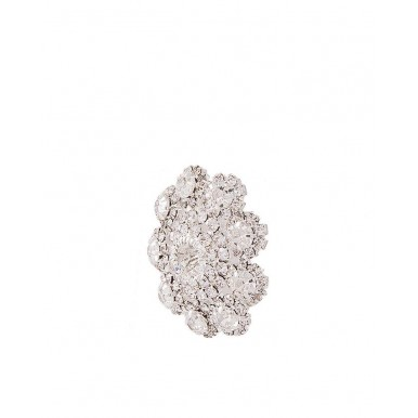 Silver Rhodium Plated Tops with Ring for Women
