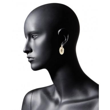 Gold Plated Indian Kundan Jewelry Set