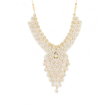 Champagne Gold Plated Bridal Set