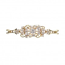 Jewellery Hut 1k Gold plated zirconia bracelet with gift box
