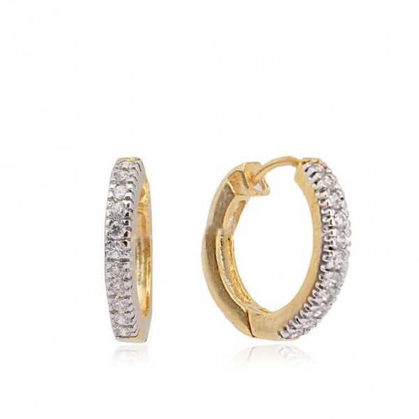 1k Gold Plated on Alloy Earrings