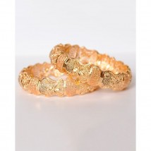 Pair of 21k Gold Plated Bangles