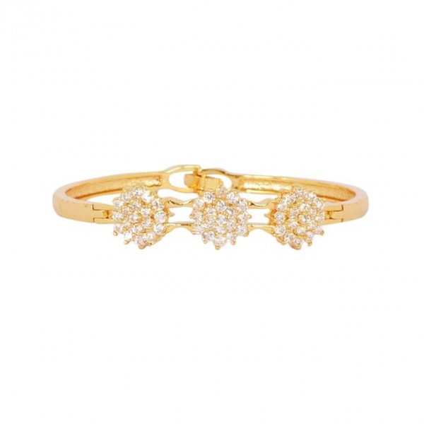 1K Gold Plated Zirconia Bracelet