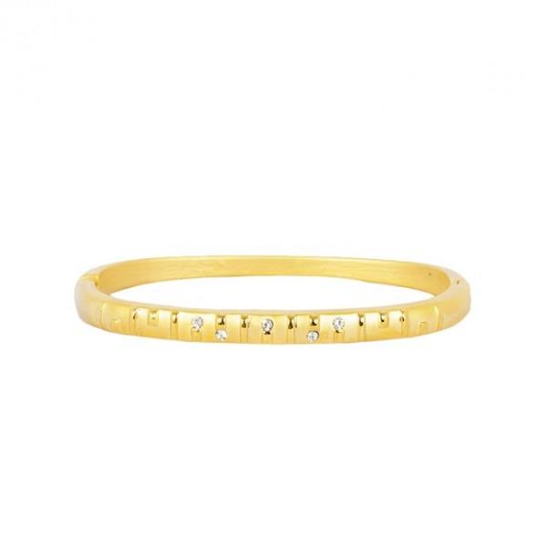 Princes Bracelet, 1K Gold Zirconia