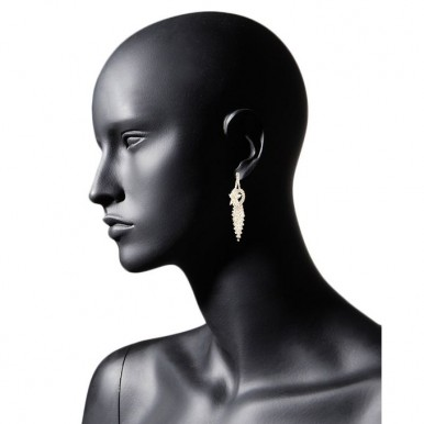 Gold Plated Zirconia Earrings