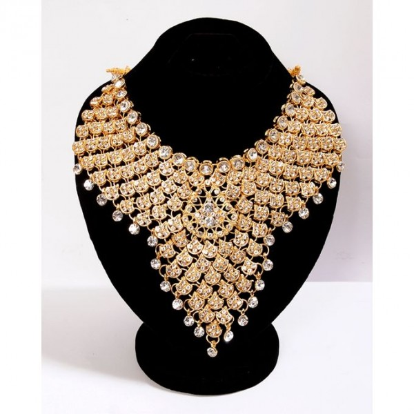 Gold Plated On Alloy Bridal Set