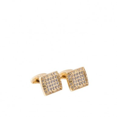 Golden Plated Cufflinks for Men