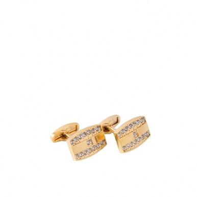 Golden Rhodium Cufflinks for Men