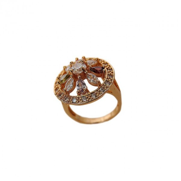 1k Gold Plated On Alloy Ring