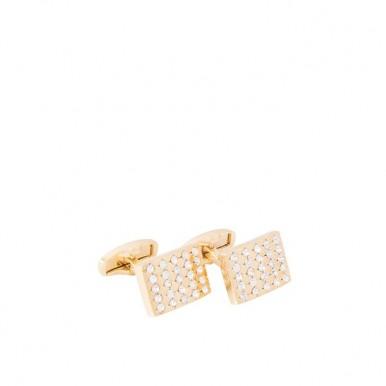 Golden Plated Cufflinks for Men