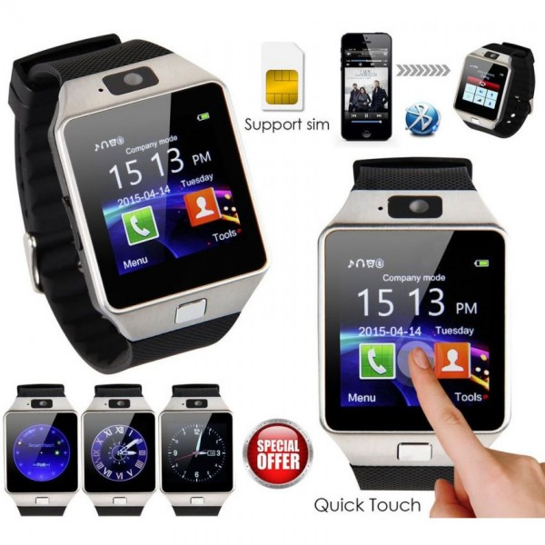 Smart Android Sim Supported Watch with Camera