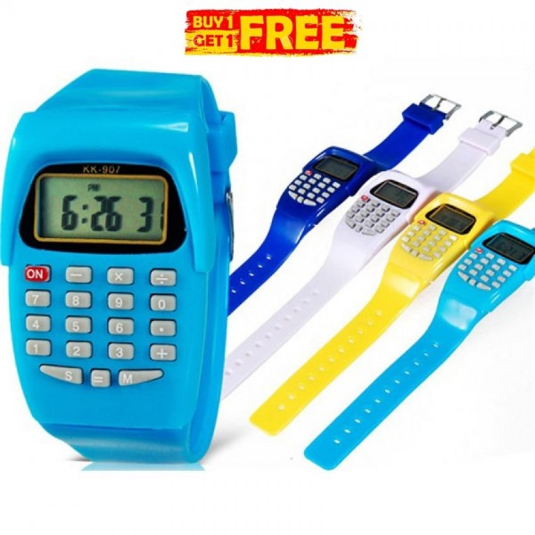 Calculater Watch For Boys and Girls - Buy One Get One Free